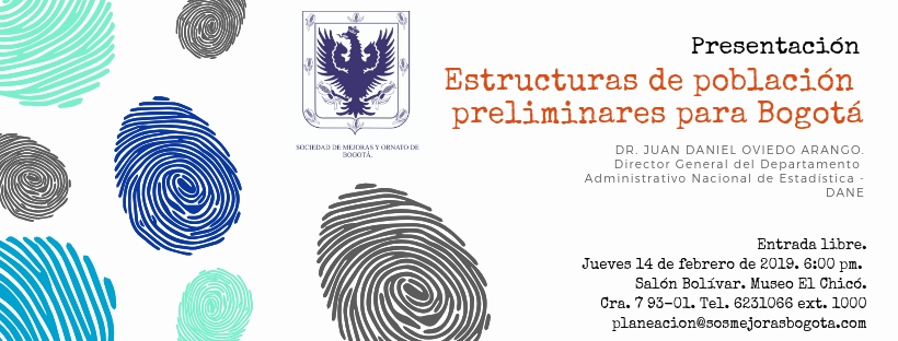 Charla sobre Bogotá y población