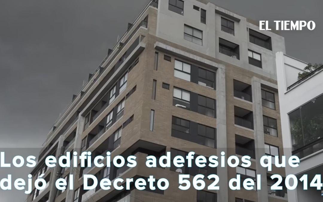 Listado de edificios que afectan la identidad urbana de Bogotá