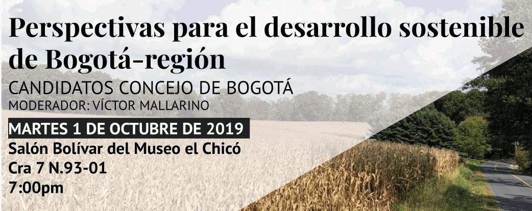 Candidatos al concejo de Bogotá hablarán sobre ciudad y sostenibilidad