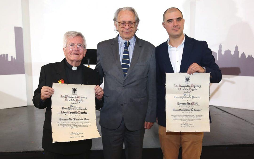"""Ellos son los ganadores del Premio """"Gonzalo Jiménez de Quesada"""" 2019"""